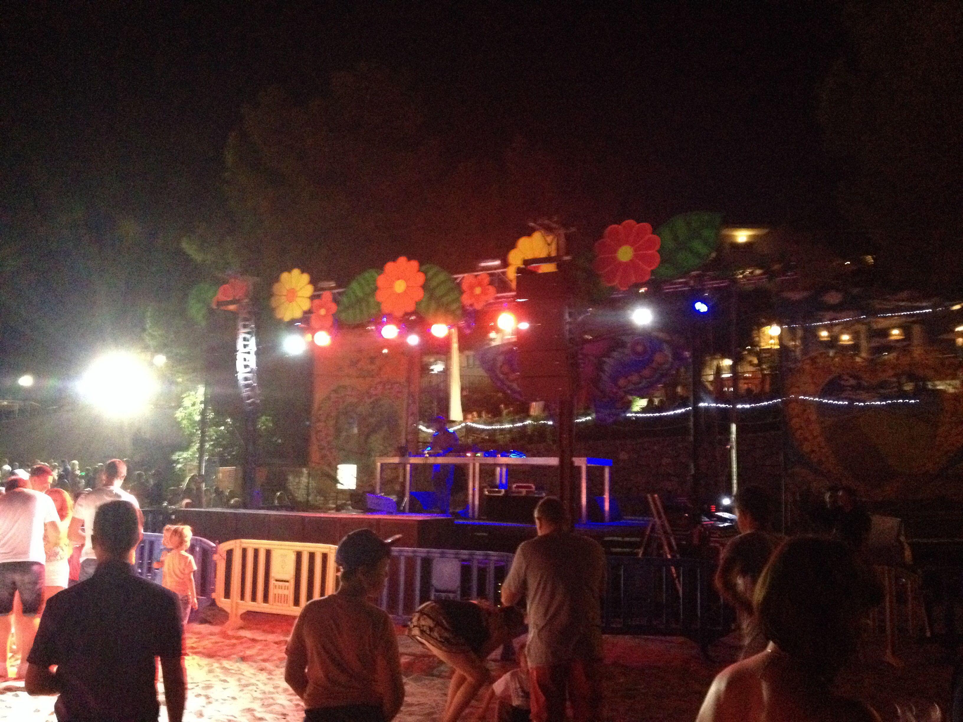 Flower Power Beach Disco Portinax Ibiza 2014