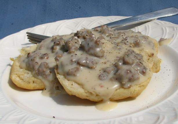 Sausage Gravy for Biscuits and Gravy. Photo by lazyme