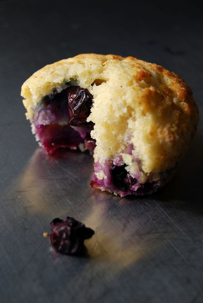 Fruity Blueberry Muffins