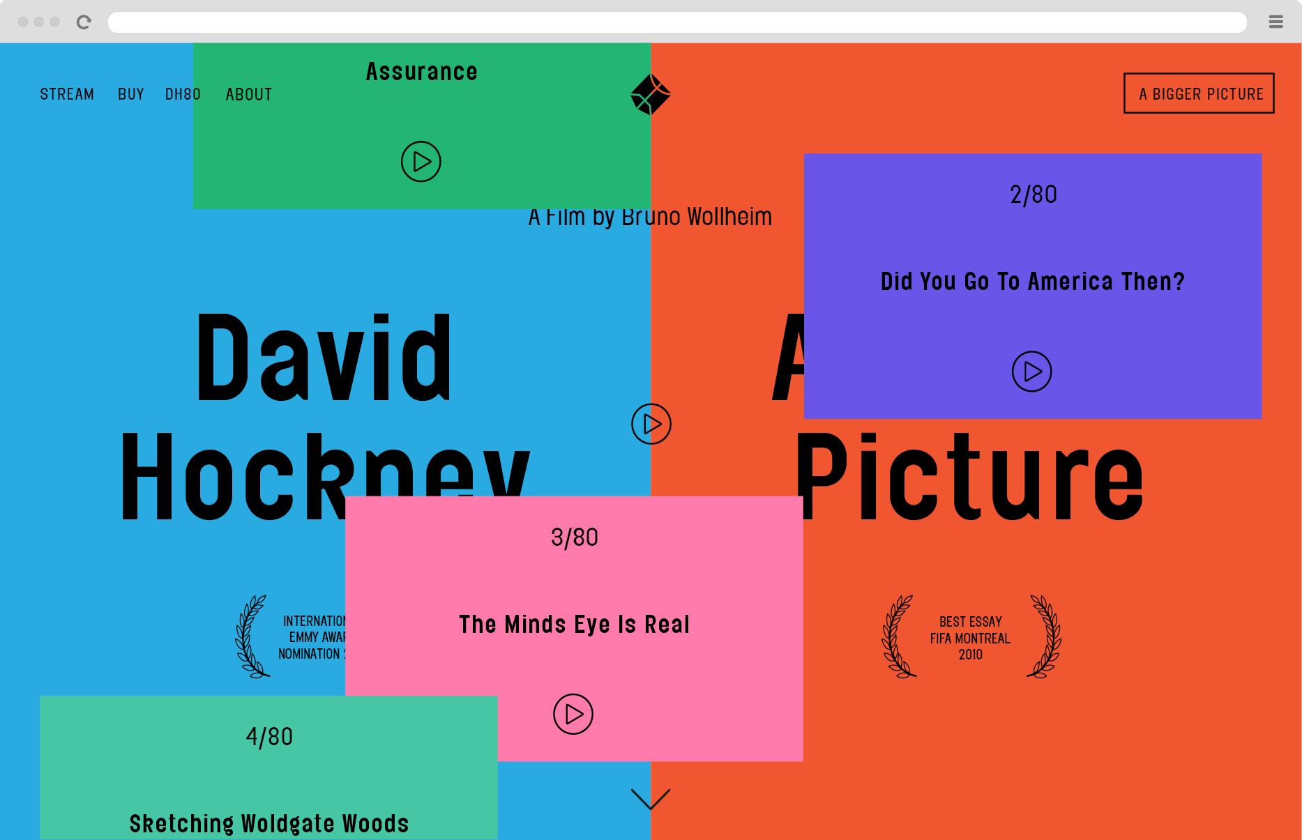 Joe Cole Porter Graphic Design Art Direction Web Graphic