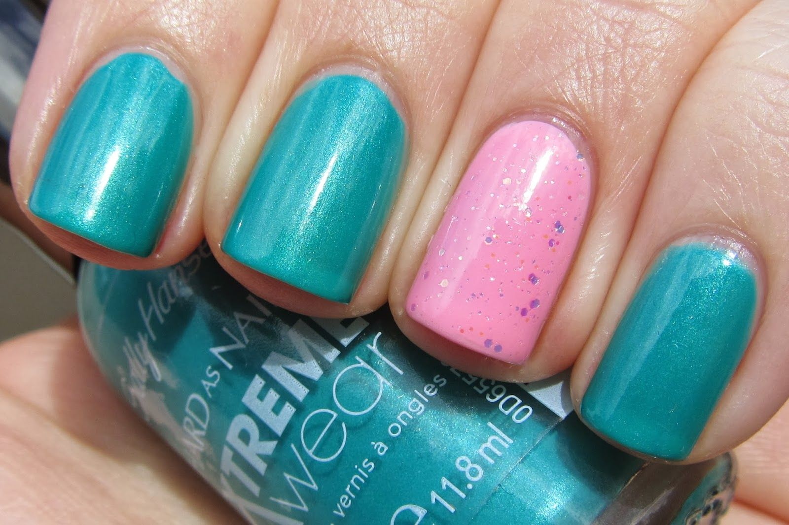 Sally Hansen Xtreme Wear Jazzy Jade | Teal Polish | Pinterest ...