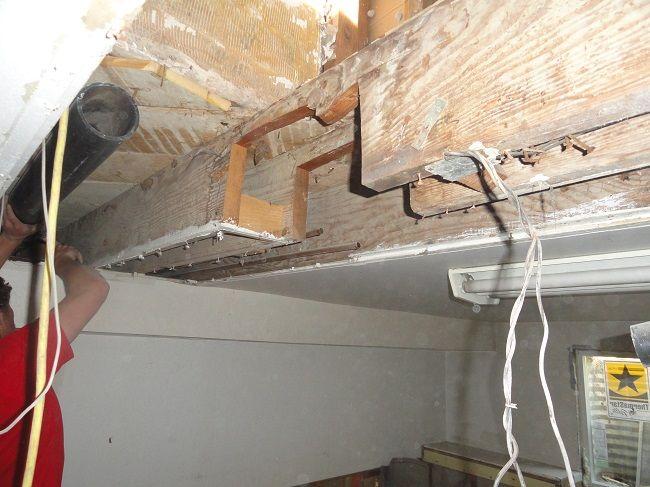 commonhallofshame Sagging floor joist | Home remodeling ...