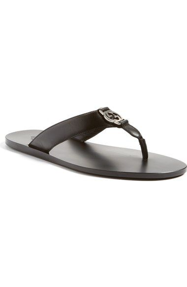 a8673c7765ecba Gucci  GG Line  Flip Flop (Men). Find this Pin and more on Men s Sandals ...
