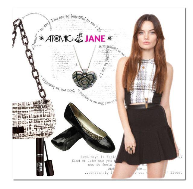 """ATOMIC JANE"" by atomic-jane ❤ liked on Polyvore featuring Prada, croptop and ootd"