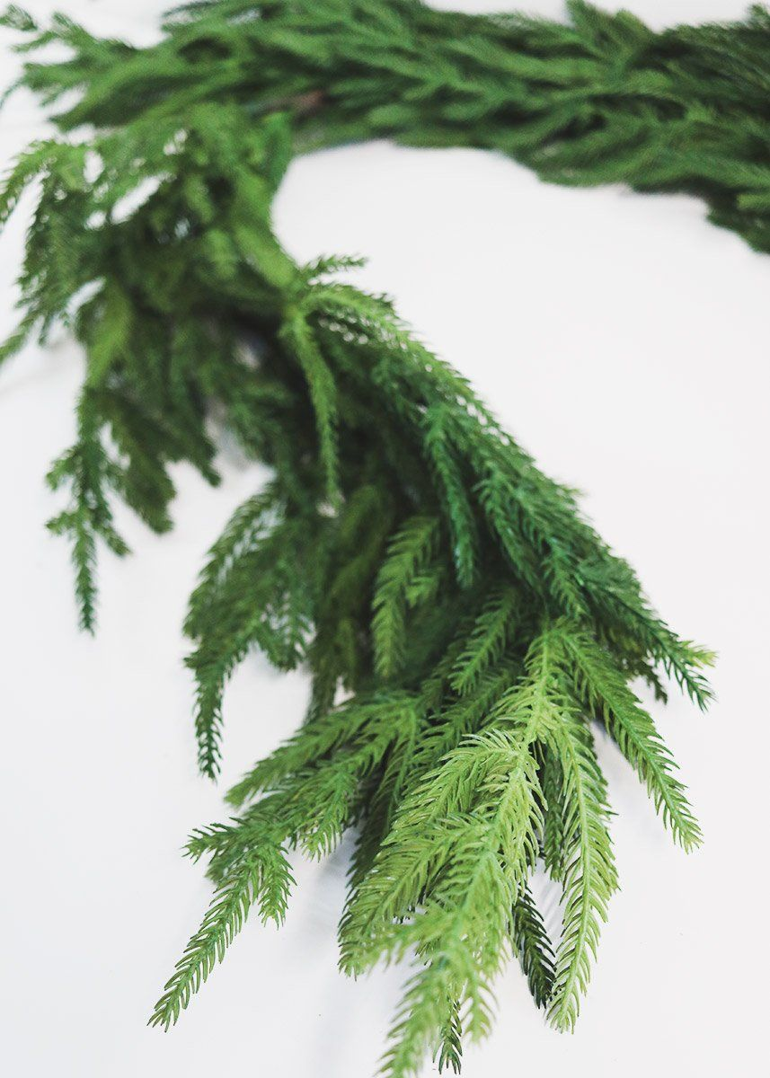 Natural Touch Artificial Pine Garland Christmas Greenery At