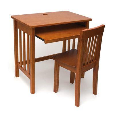 "Lipper International 28"" Computer Desk 574P 574WN,    #Lipper_International_574P_574WN"