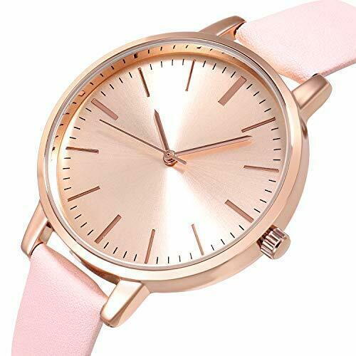 Kimomt Reloj Analógico Casual Para Mujer Floral Fashion Correa De Cuero Rosa Rosa Ebay Floral Fashion Womens Watches Watch Brands