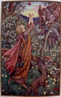 "From ""The Lilac Fairy Book"" by Andrew Lang, ca.1910"