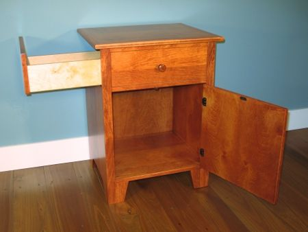 Google Image Result for http   www dennyallencabinets com Shaker     Nightstand IdeasFurniture. Features   Fully assembled  simply attach hardware and slip in