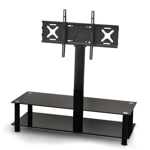 Great Tv Halterung Motorisiert Stnder Tisch Rack Regal Sideboard Kommode  Schwarz Edel In Tv Video U With Tv Rack Schwarz