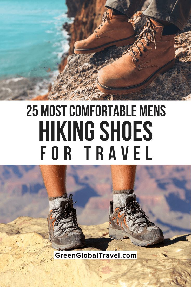 most comfortable mens hiking shoes