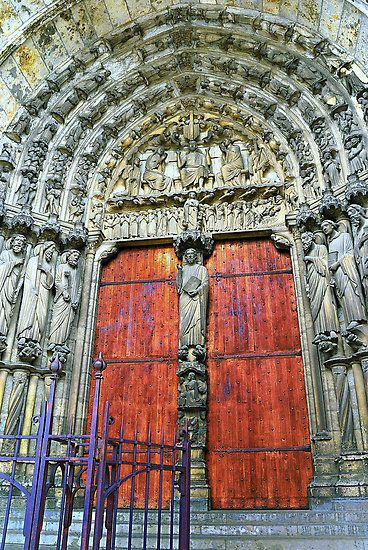 Cathedral Doors of Our Lady of Chartres