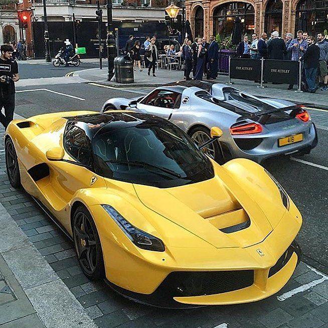 Ferrari Laferrari Aperta: LaFerrari Aperta In Yellow