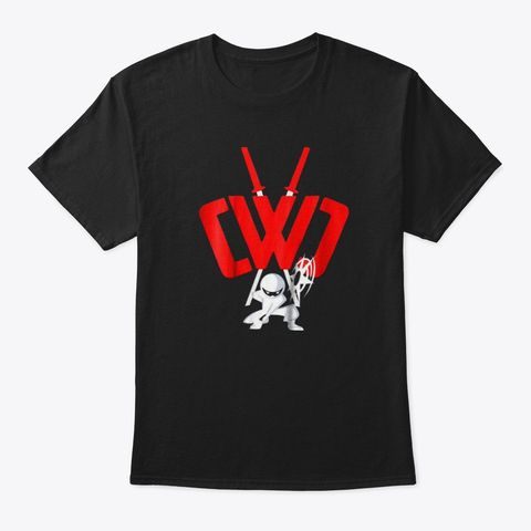Cwc Chad Wild Clay Ninja T Shirt Sword Black TShirt Front