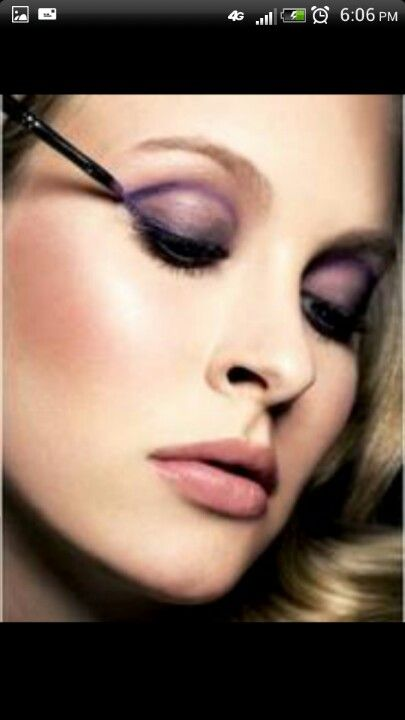 7a5a48f7cad Pin by Dominique Rizzo on Make up for wedding | Applying eye makeup ...