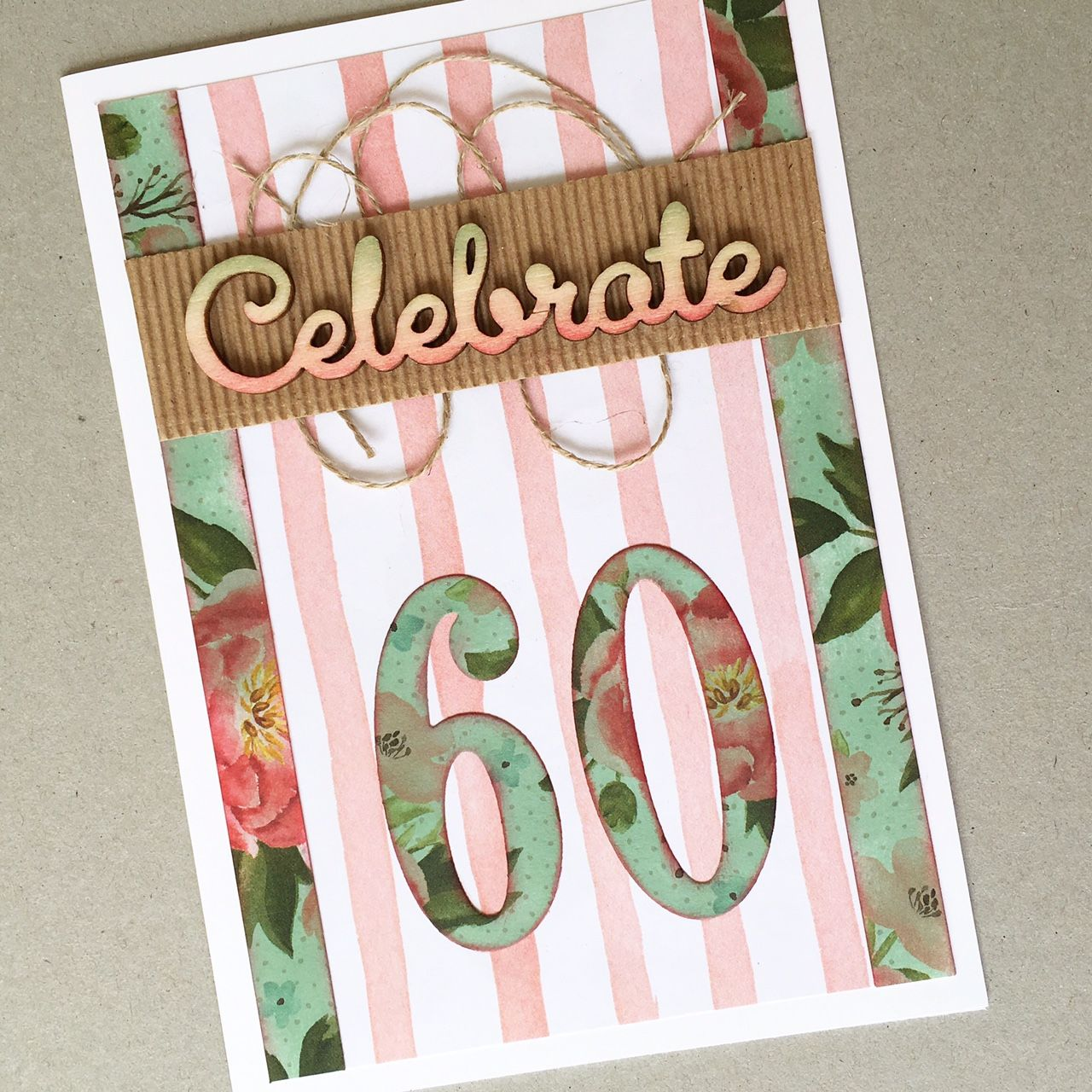Th birthday card handmade card cardmaking cardclasses sydney