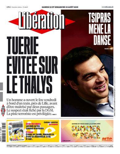 Libération, journal numérique du 22 août 2015