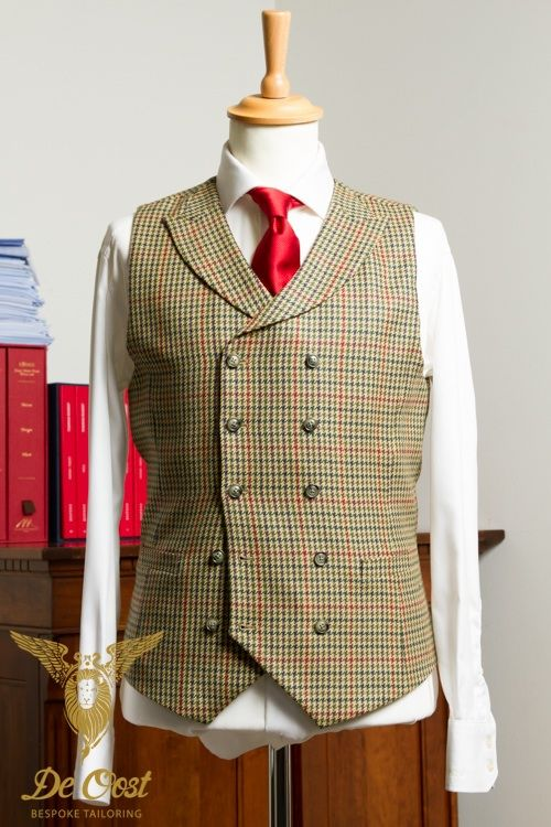 3 Piece Suit: Windowpanes, Houndstooth Plaid and Whipcord combined
