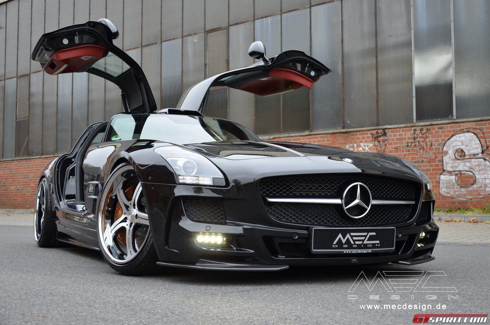 Mec Design Mercedes Benz W197 Sls 63 Amg With Images Mercedes
