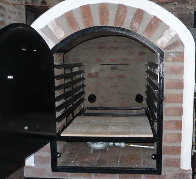 Hornos de barro a le a y a gas tatacu modelo pizzero - Hornos a lena construccion ...