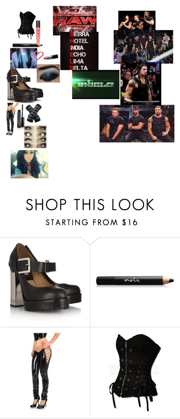 """""""Untitled #2689"""" by deanambrose ❤ liked on Polyvore featuring Michael Kors, Noir Cosmetics, Poizen Industries, MAC Cosmetics, Monday, TNA and ULTA"""