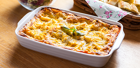 Classic Lasagne. Lasagne is a classic and a great way to use up extra mince.