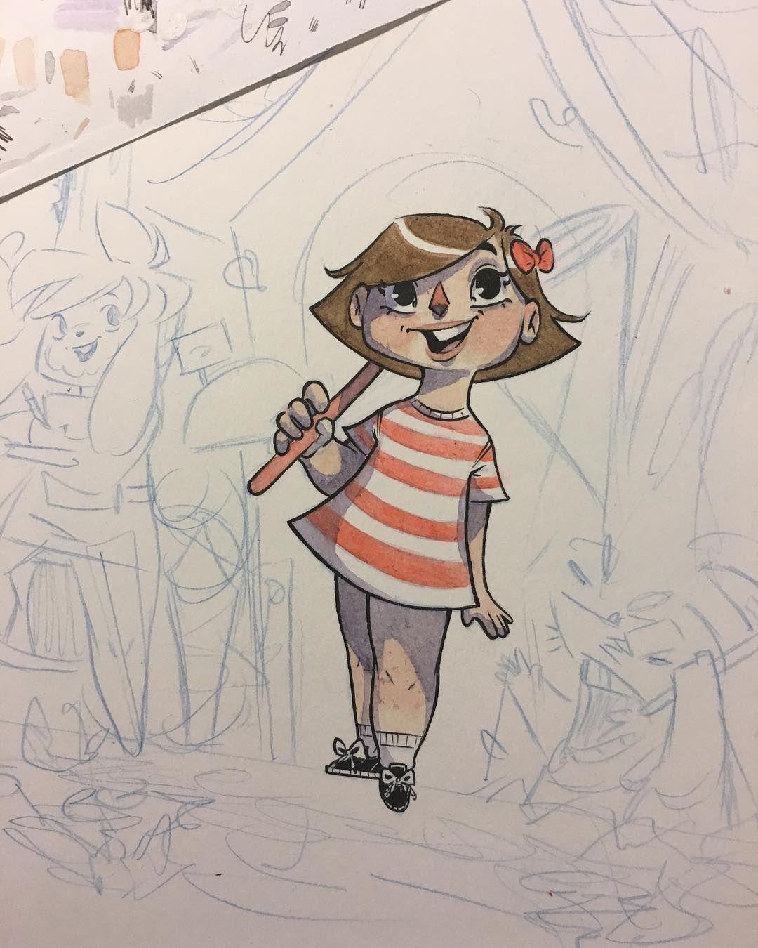 Little villager #animalcrossing #watercolor #sweeneyboo #art #nintento #sketchs #doodle