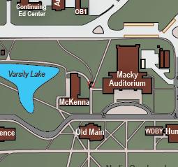 Colorado Boulder Campus Map.Campus Map University Of Colorado At Boulder Boulder Colorado