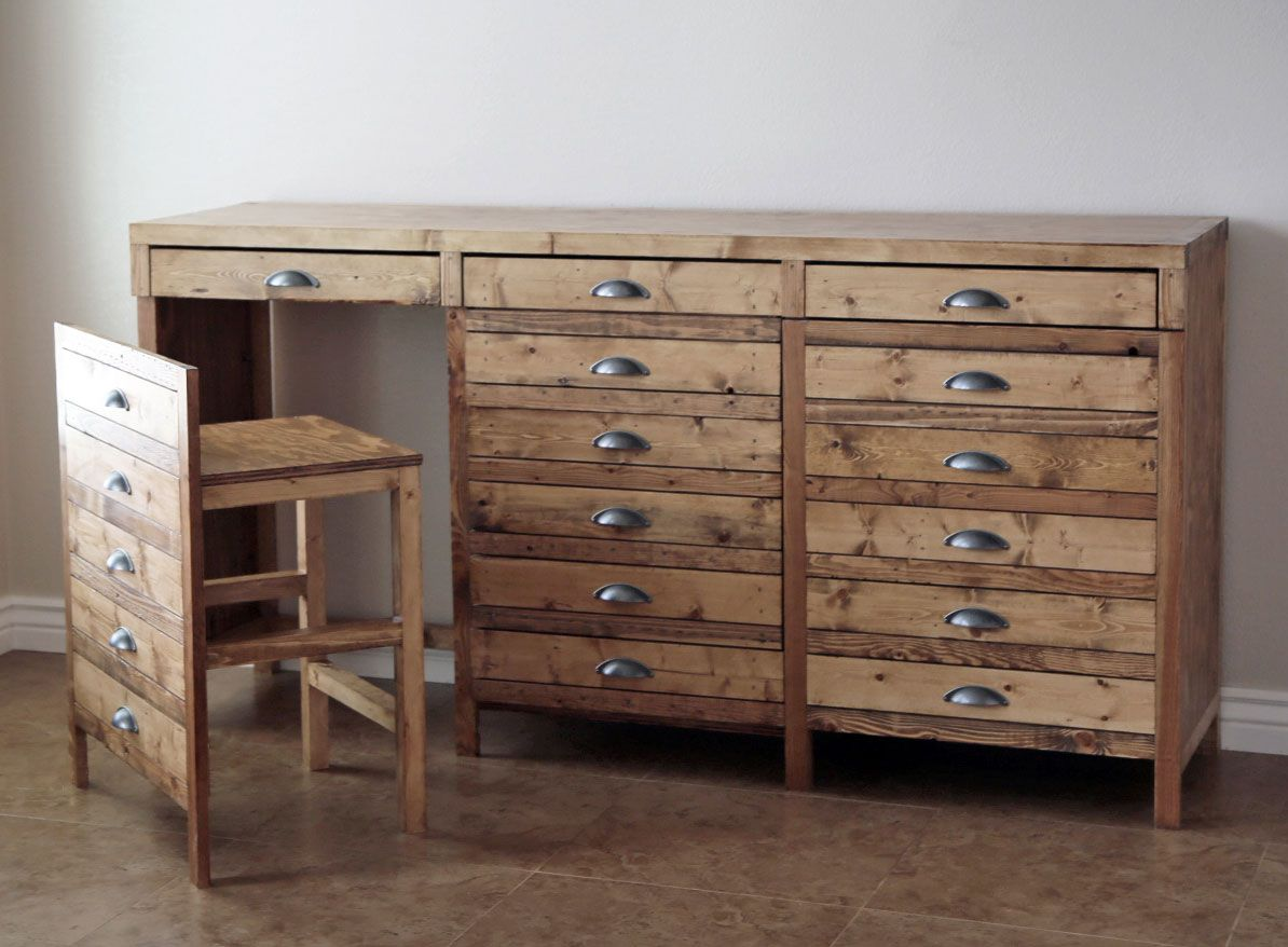 Hidden Desks hidden desk apothecary cabinet | knock-off wood | bloglovin' | diy