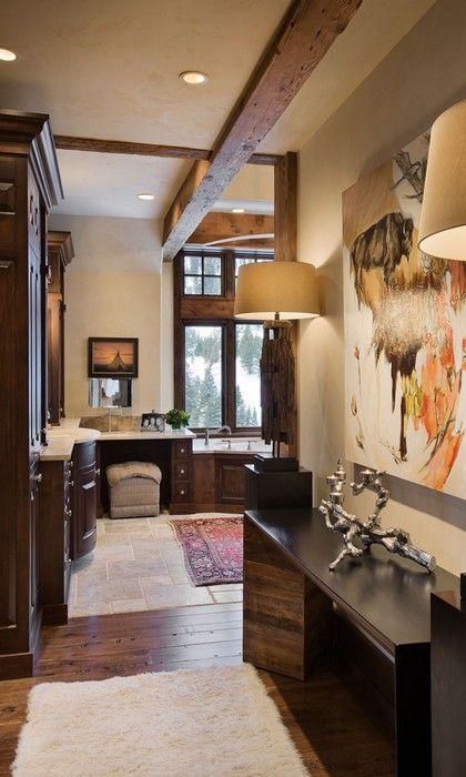 luxus interieur design idee sennhutte im gebirge, sennhutte-rustikal holzschrank | timberframe home ideas | pinterest, Design ideen