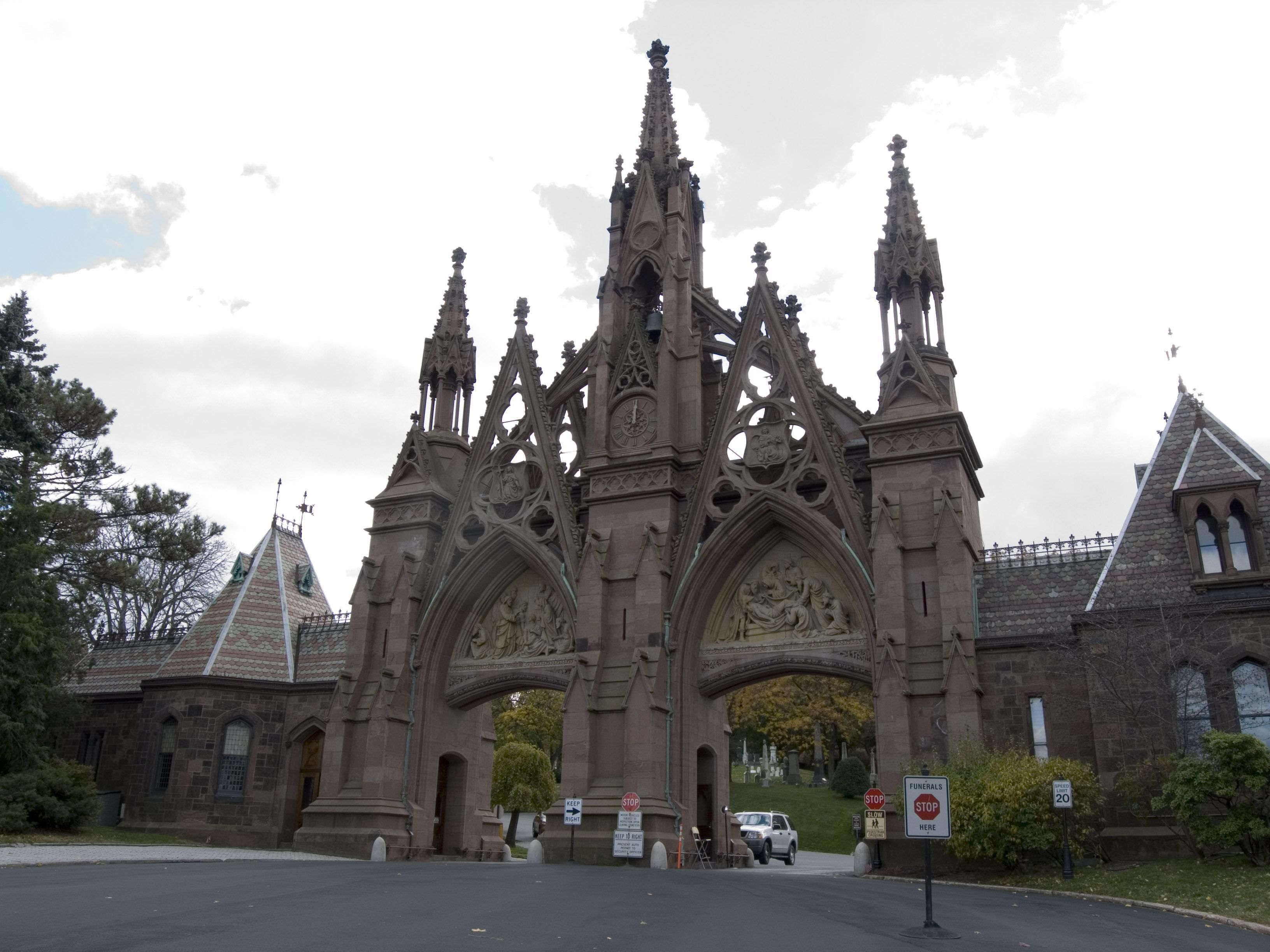 green wood cemetery new york city new york gothic revival