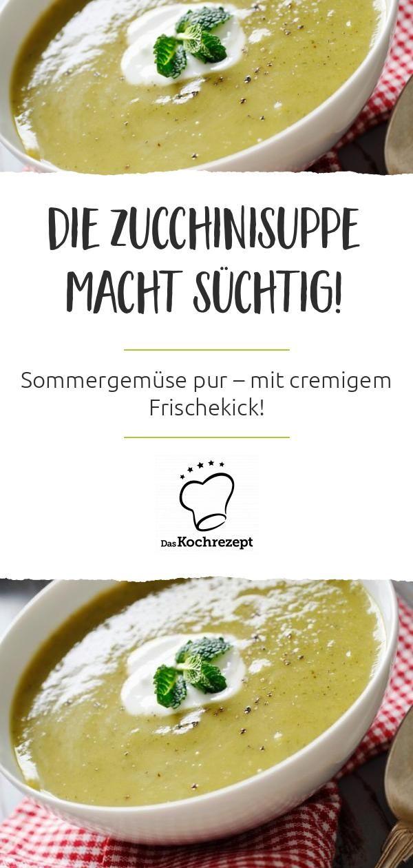 zucchinisuppe rezept mit bildern zucchinisuppe