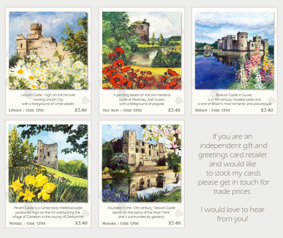 British castles greeting cards printed art cardsquality greetings british castles greeting cards printed art cardsquality greetings cards fsc rated greeting m4hsunfo