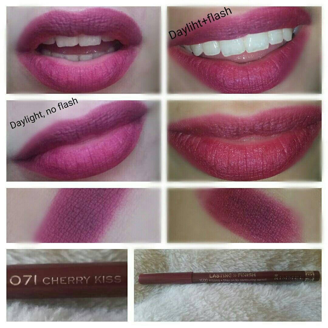 Rimmel 1000 Kisses Lip Liner 049 Natural Stays On Lips Long