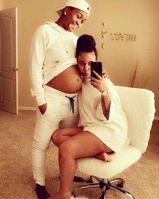 pregnant lesbian dating