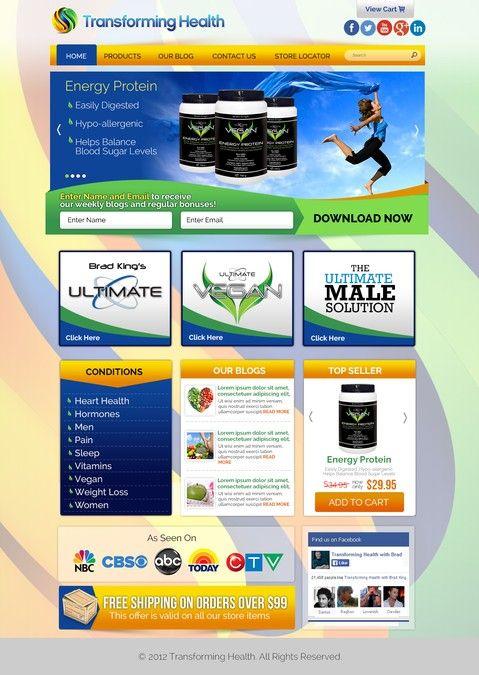 The Ultimate Website Homepage Redesign by AlexEspejon