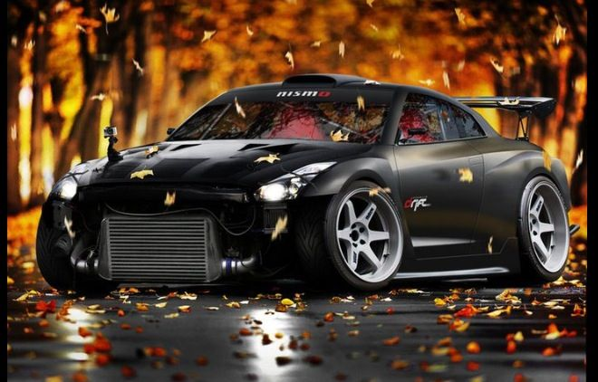 Modified GT-R by rc82 workchop.