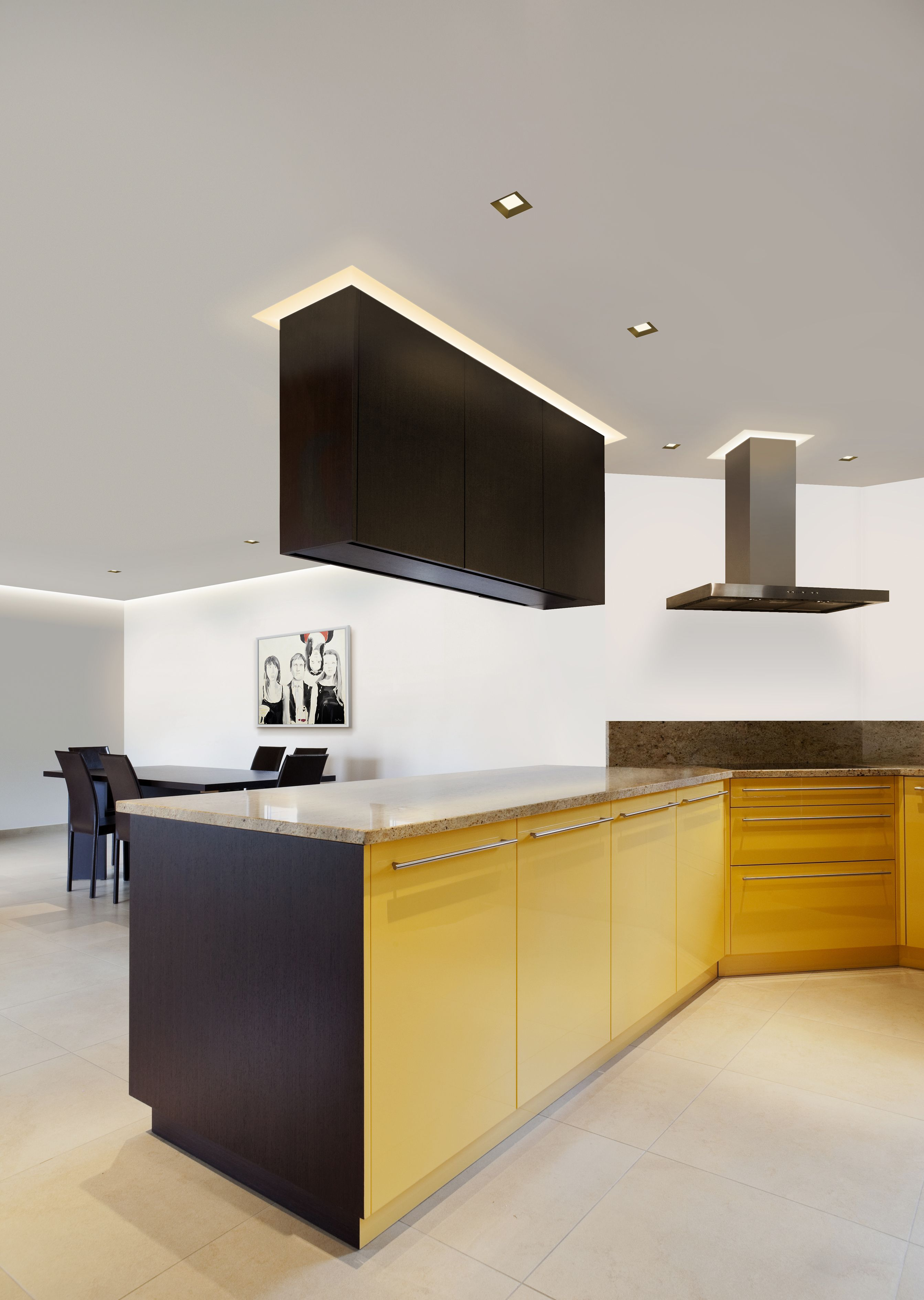 LED Ceiling Light | Kitchen Lighting | Aurora LED Accent Square Beveled    By Pure Lighting