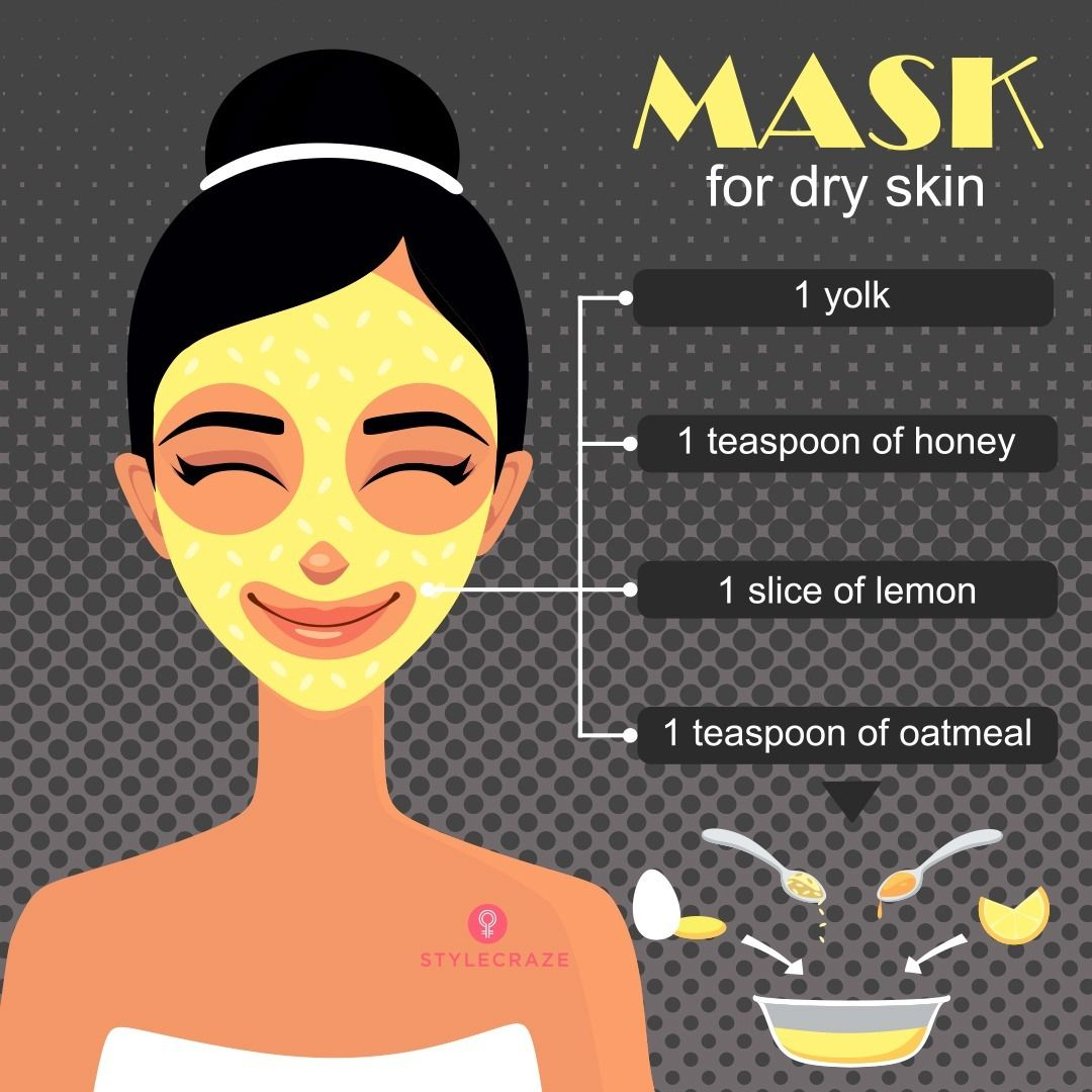 Do you have a dry skin? Try this face mask! For more #skincare