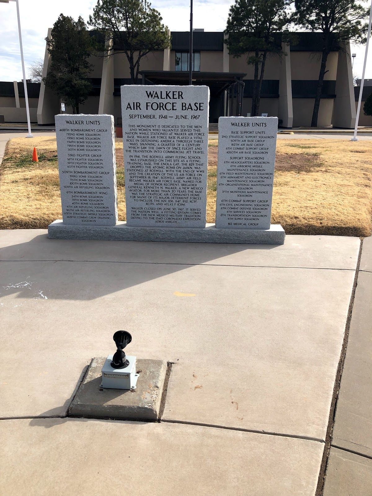 NM/Roswell/Walker AFB Museum Museum, Air force bases