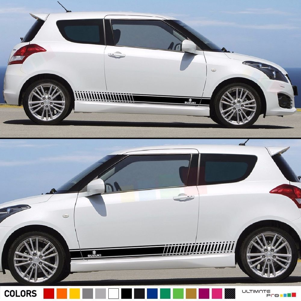 Sticker decal kit for suzuki swift sport sz r light mirror cover handle trim led ultimateprocy1