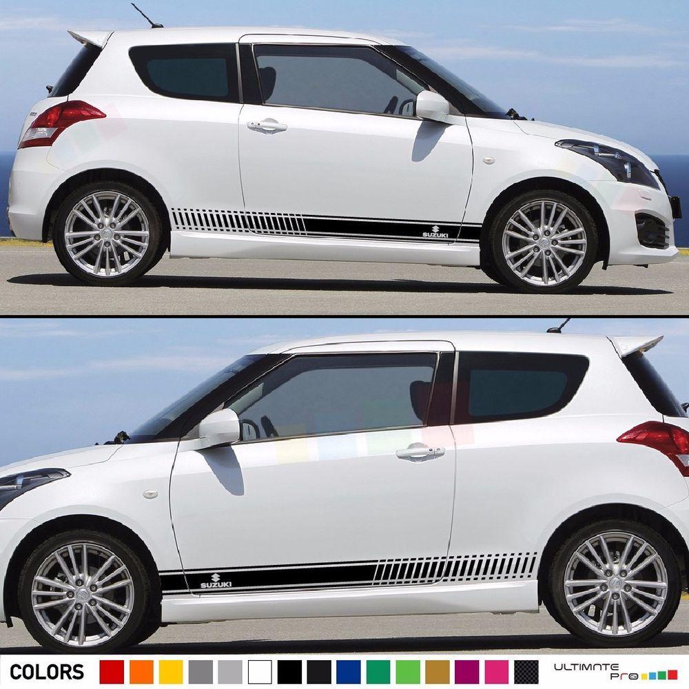 Sticker Decal Kit For Suzuki Swift Sport Sz R Light Mirror Cover Handle Trim Led Suzuki Swift Sport Suzuki Swift Stripe Kit [ 1000 x 1000 Pixel ]