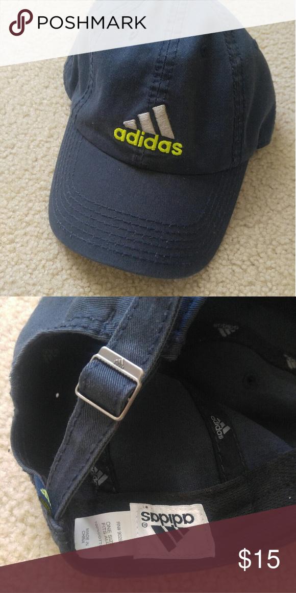 825c43d5d5b Adidas Baseball Cap Cute navy 3 stripe dad hat. adidas Accessories Hats