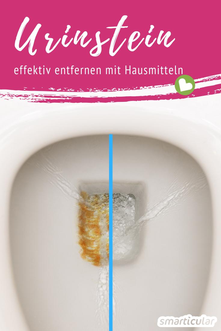 Urinstein Effektiv Entfernen Mit Hausmitteln So Bleibt Das Wc Sauber In 2020 Hausmittel Hausreinigungs Tipps Putzmittel Selbstgemacht