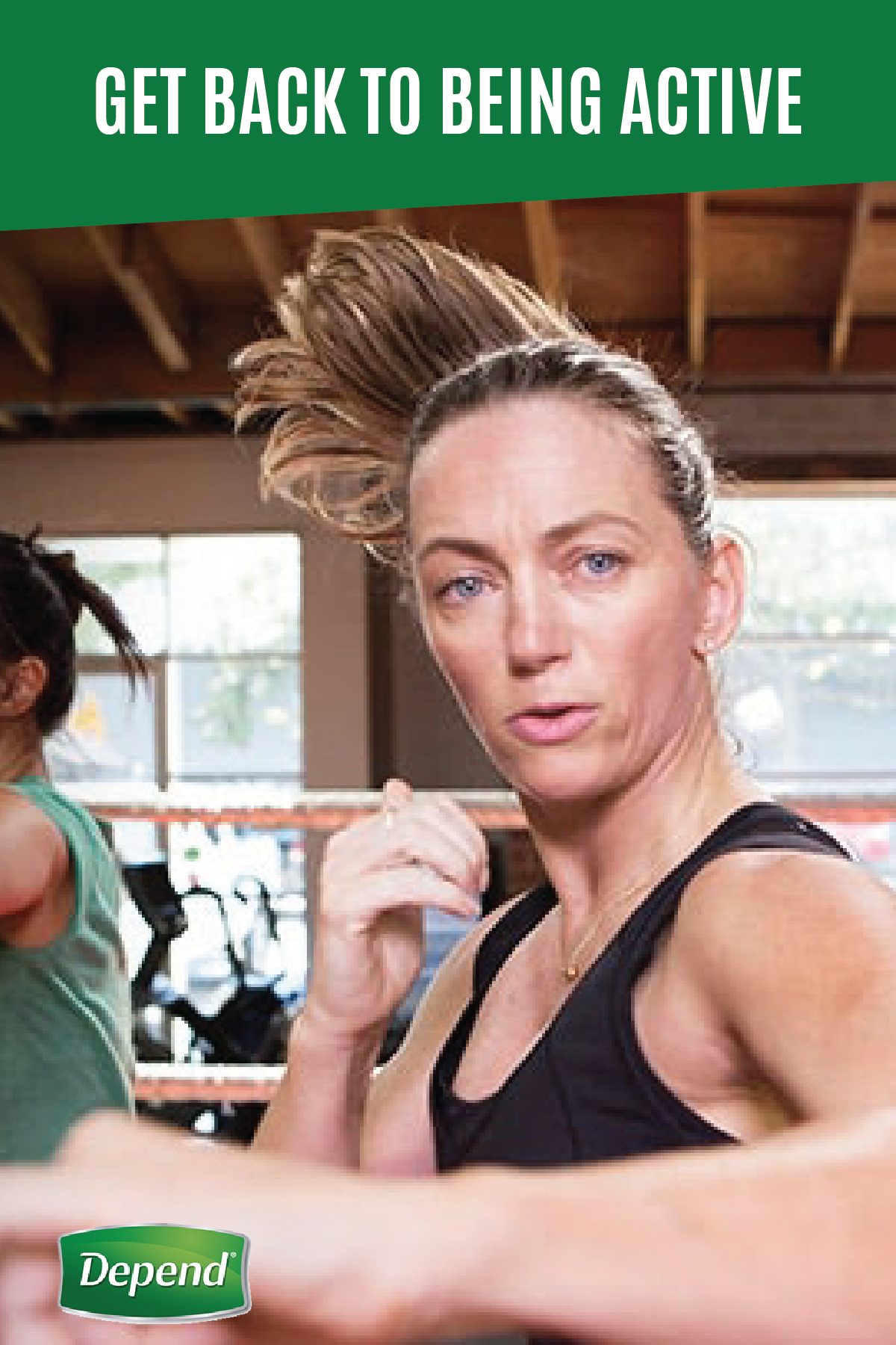 Is incontinence holding you back from doing the things you love? Depend® is giving people everywhere the confidence to reconnect with the lives and people they've been missing. See how you can get back to doing your favorite workouts, from boxing to yoga.