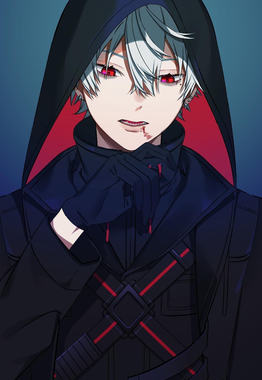On Twitter White Hair Anime Guy Anime Guys Shirtless Anime Demon Boy