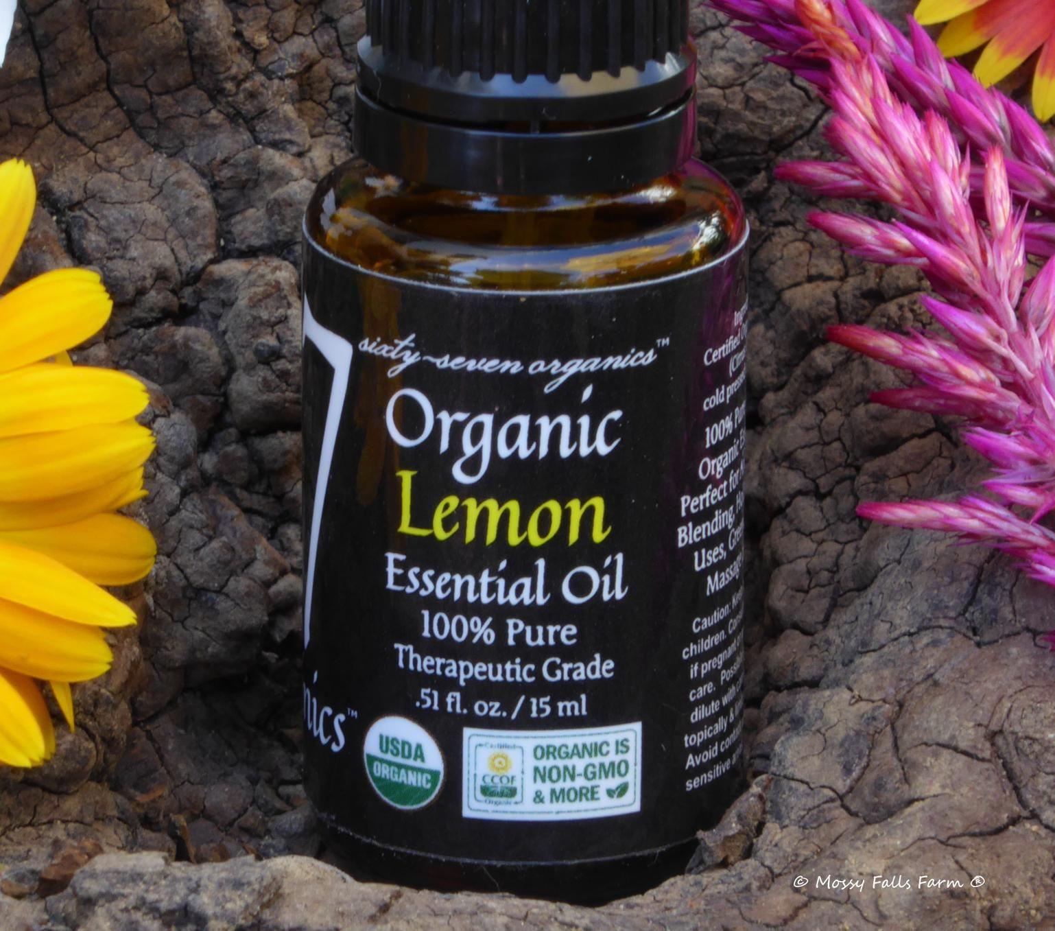 Organic Lemon Essential Oil Organic lemon, Essential oils