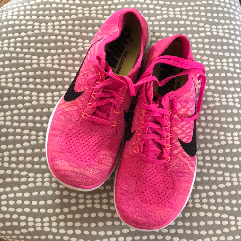 online retailer b0025 944da Nike Shoes | Nike Free Run 4.0 Flyknit | Color: Pink | Size ...