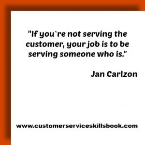 Quote On Internal Customer Service  Jan Carlzon  Work