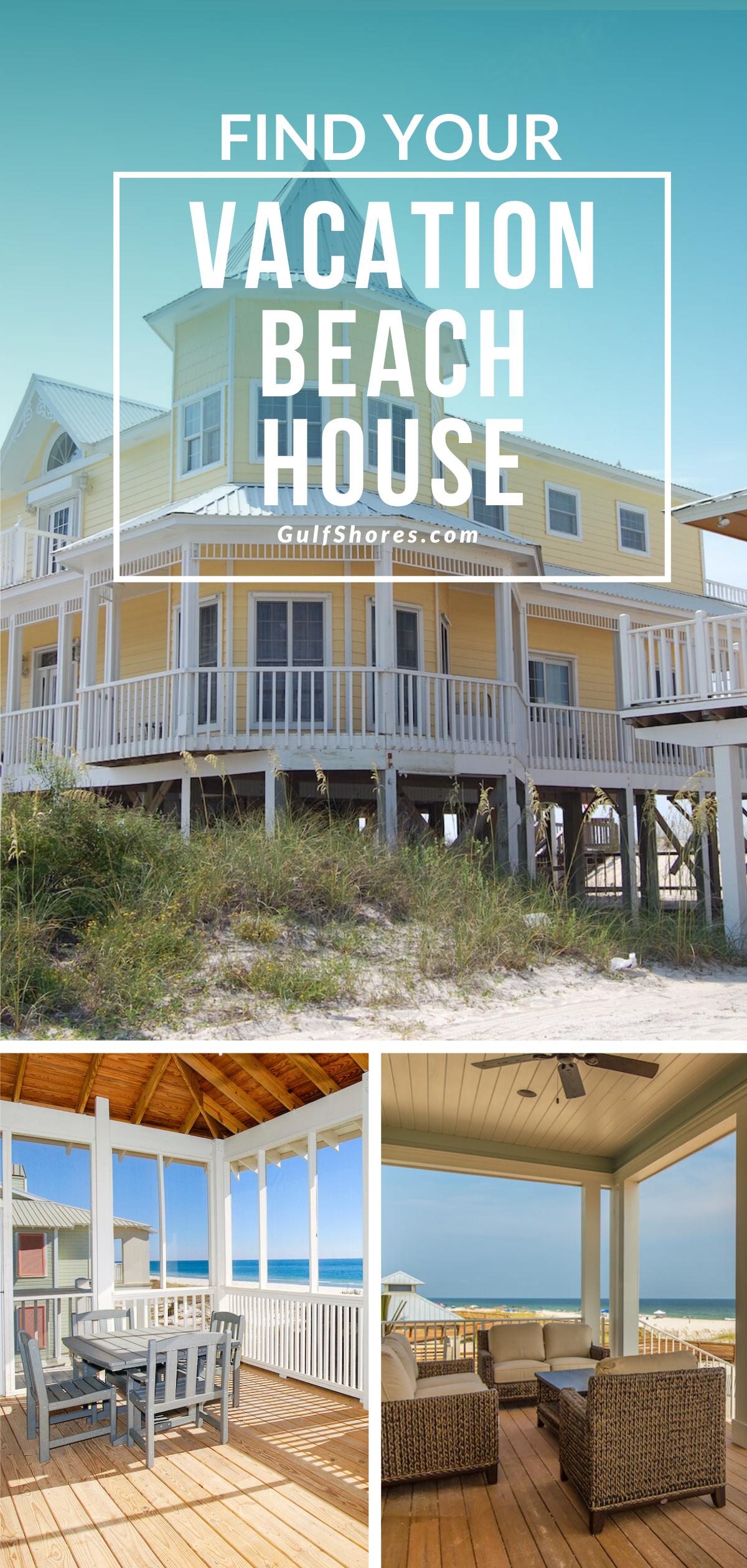 Beach House Vacation, Gulf Shores